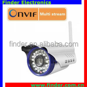 15W IP surveillance IR-cut ir distance 15m camera outdoor wifi Wireless bullet P2P ip camera Onvif Camera