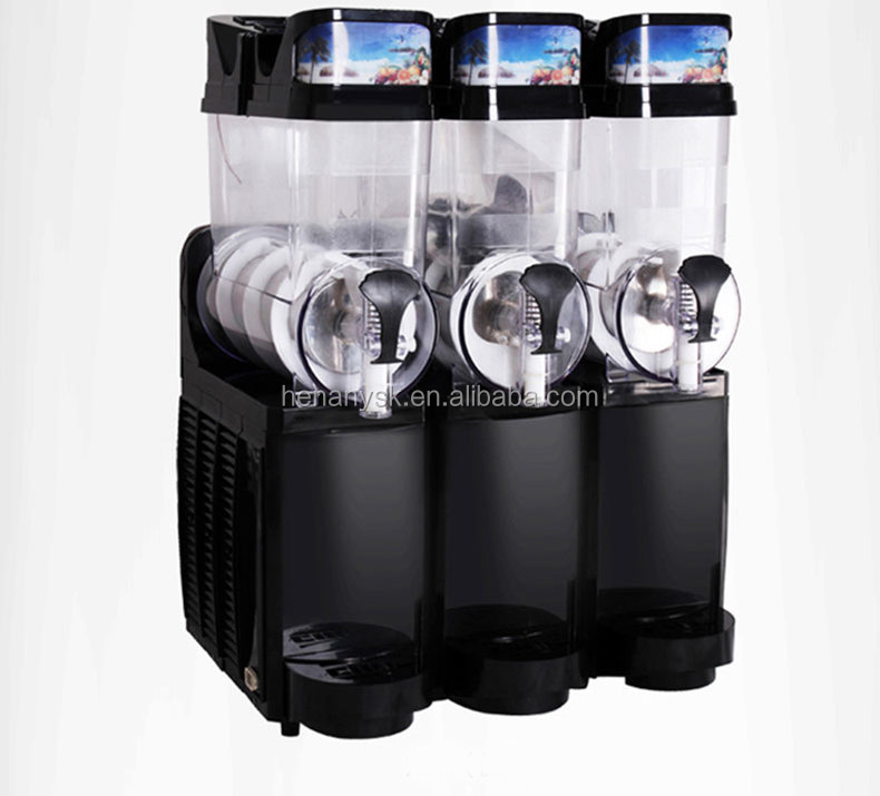 IS-TKX-03 New Commercial Three Cylinder Stainless Steel Fully Automatic Slushy Maker Smoothie Maker