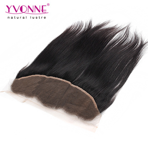 Yvonne Hair Brazilian Straight Size 13x4 Ear to Ear Hair Pieces Lace Frontal For African American