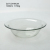 shallow clear glass salad fruIt bowl in different sizes wholesale