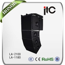 ITC LA Series 2000W 8 ohm Natural and Soft Sound Quality Passive Line Array Speaker