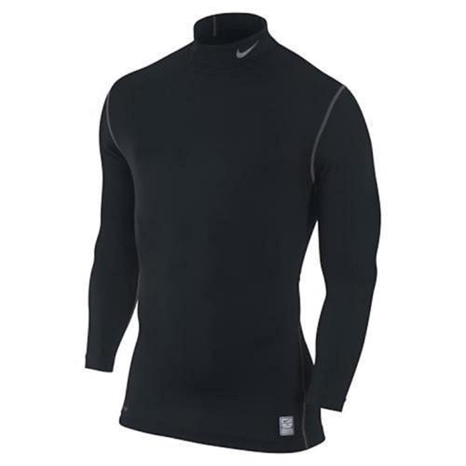 75e3552e Get Quotations · Nike Mens Pro Hyperwarm Dri-FIT Max Compression Mock Long  Sleeve Shirt