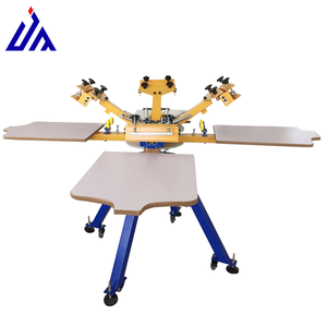 easy adjusting rotary silk screen printing machine for sale