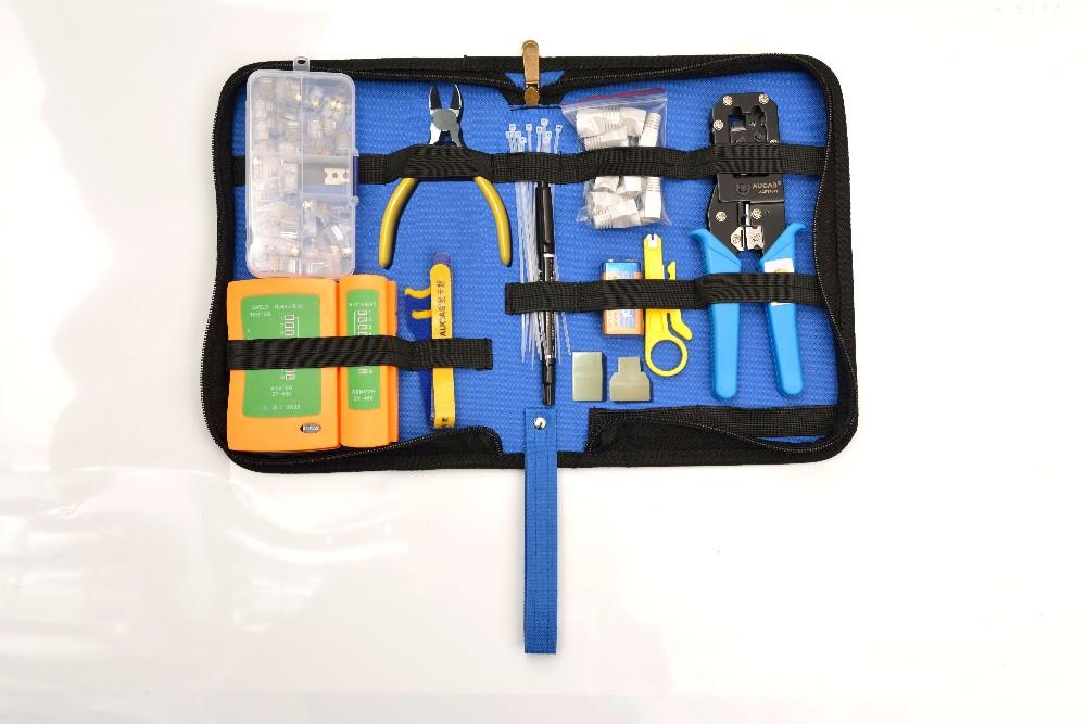 Durable and portable Fiber Optic Network Tool Kit