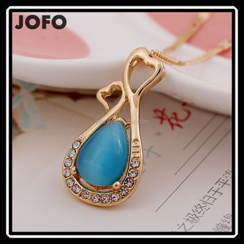 2017 delicate new design crystal opal pendant necklace smoothly gold 2017 delicate new design crystal opal pendant necklace smoothly gold plated in 9 grams jewelry xpj0195 aloadofball Images