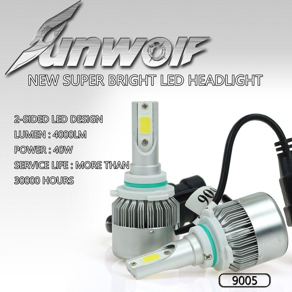 High Power COB Chip 80W 8000LM 9005 HB3 CREE LED Headlight Bulbs 6000K Kit -MP#GH4498 349Y49HBRG9136342