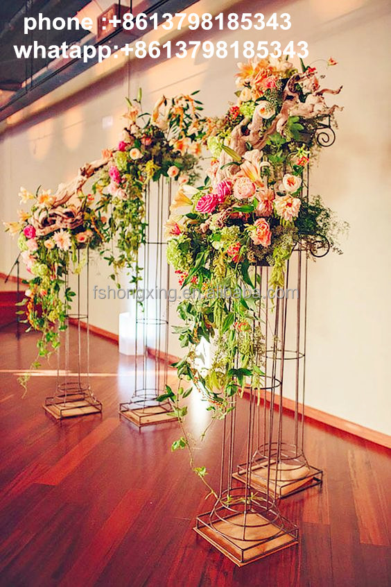 wedding mandap with flower decorations/indian wedding party