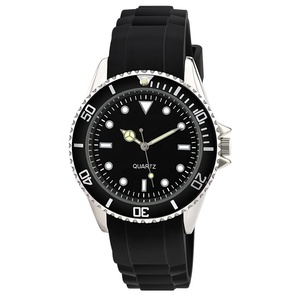 Hot Sale Geneva Silicone Watch Men Sports wrist watches
