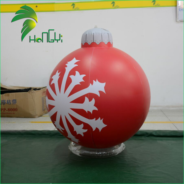 Customized Inflatable Christmas Ornaments Ball / Christmas Inflatable Ornaments