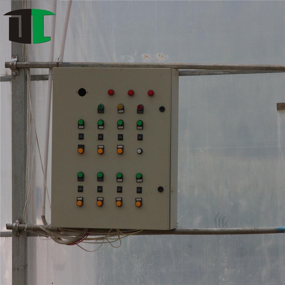 Çin 200 mikron kaplama multispan üfleme makinesi tünel plastik sera filmi tarım yeşil ev kış