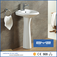 sanitary pedestal water closet wash basin with stand price