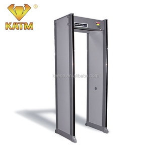 Security full body walk through door frame arched metal detector