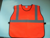 2015 high visibility Employ safety wearing reflective vest hot sale