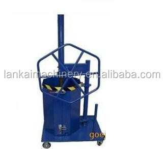 Mobile and small Manual trash compactor