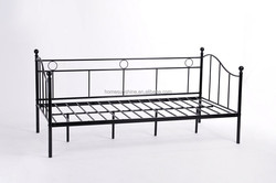 Low price home furniture bedroom used daybed,,steel daybed