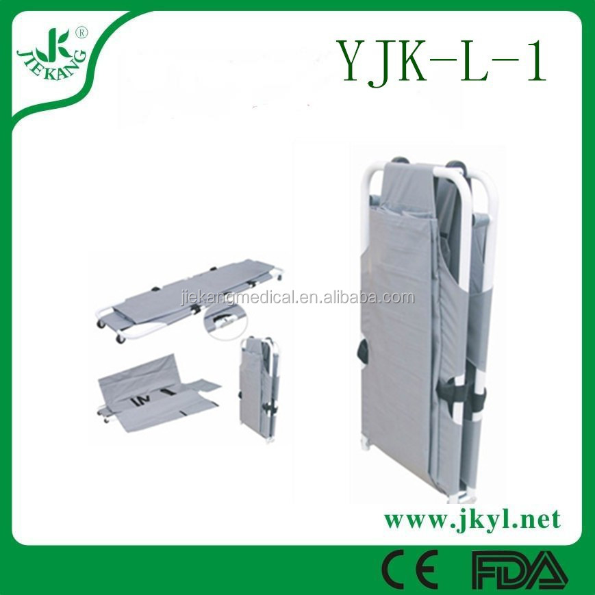 YJK-L-1patient transport /emergency wheelchair stretcher for rescue