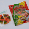 Good Quality Sweet Halal Pizza Gummy Candy In Bag Packing