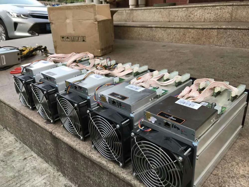 2017 Factory Stock Antminer D3 S9 14Th S 22nm Bitcoin Miner Ready For