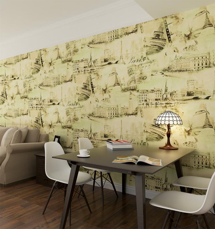 Pvc Embossed Decorative Iloilo City Wallpaper For Commerce - Buy ...