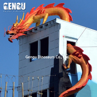 Large Dragon Model Outdoor Chinese Dragon