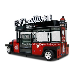 Catering Trailers Or Mobile Food Trucks Electric Food Truck