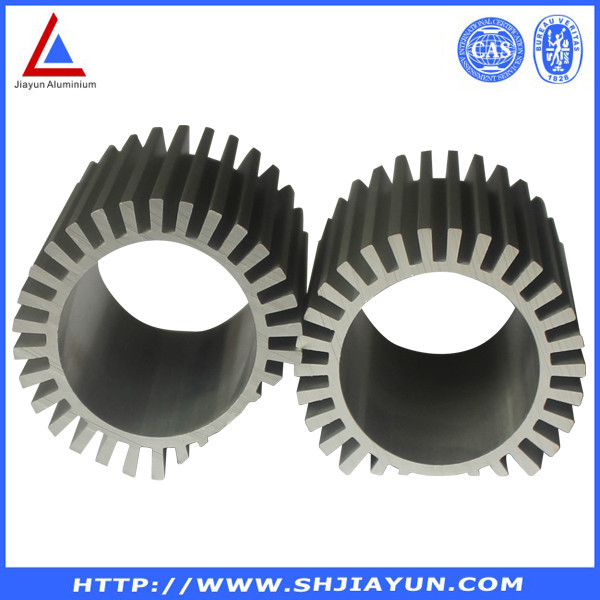 Anodized Aluminium Round Heat Sink Extrusion From China Golden ...