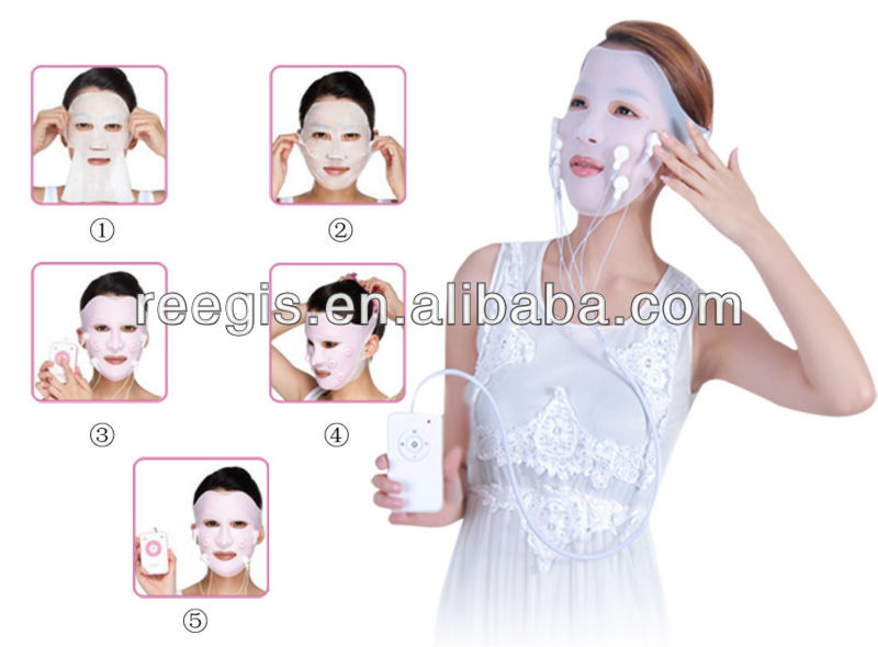 Patent Highly demand of sound activated led mask cover vibration mask