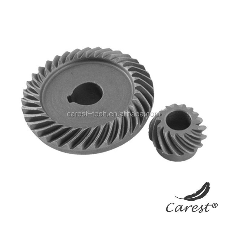 custom made plastic bevel gear