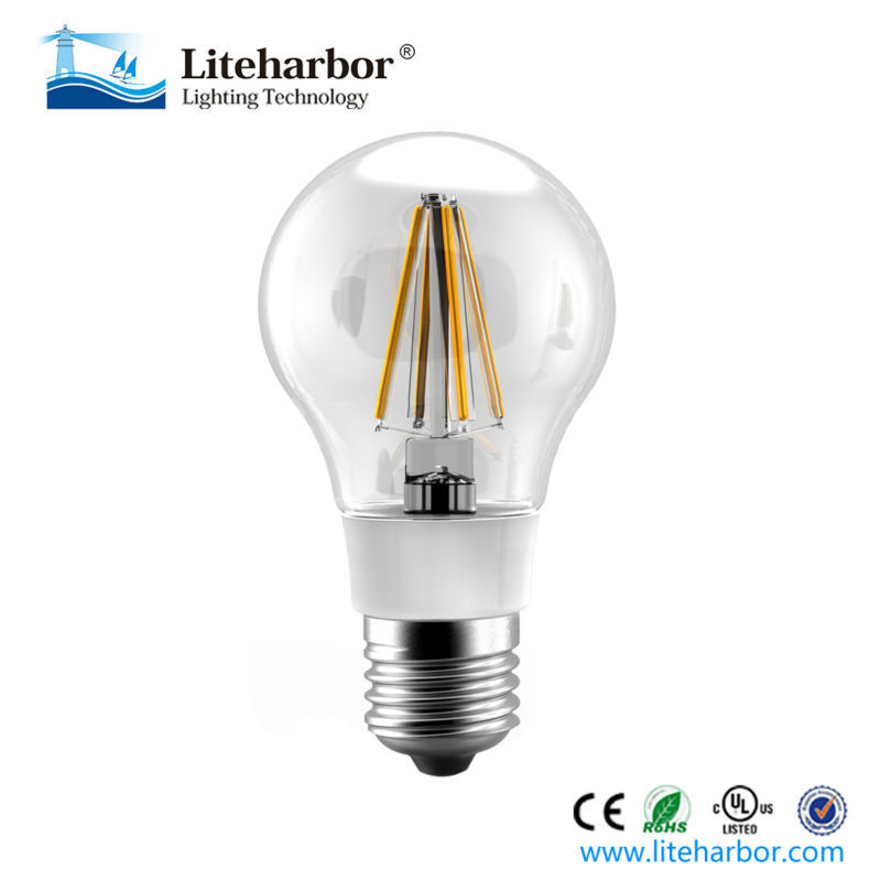 E26 A 19 dimmable filament led bulb