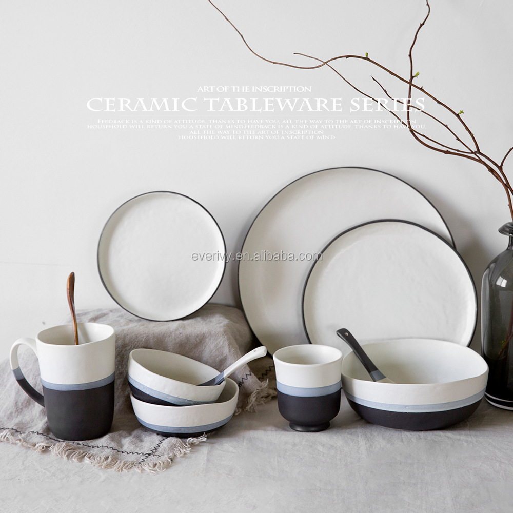 Wholesale Ceramic Dinner <strong>Plate</strong>,Bowl,Spoon For Decoration For Kitchen