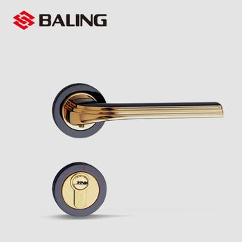 Baling Design Zinc Alloy Lever Door Handle Mortise Lock For Bedroom ...