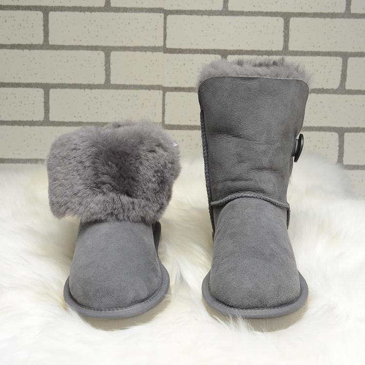 ae731c256c2e Международный бренд женщины овчина снегоступы настоящее мех, 100 ...