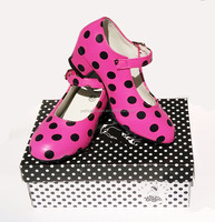 Girls Shoes Flamenco Schoenen Spanish dance shoes