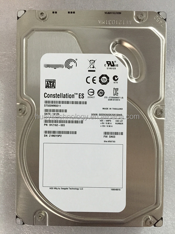 ST500NM0011 500GB 7.2K SATA 64MB Server Hard Disk Drive