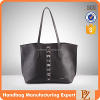 5065 2016 Unique Women PU Leather Bags black shopping bag wholesale