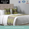 ELIYA factory made embroidery linen hotel bed sheets set quilt cover