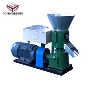 ROTEX High Efficient CE Diesel Engine Hammer Mill and Feed Pellet Machine Made in China