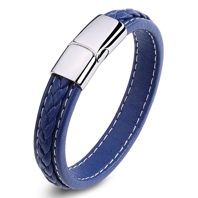 c60d6e64d7c8 Venta al por mayor anillo de cuero trenzado-Compre online los ...