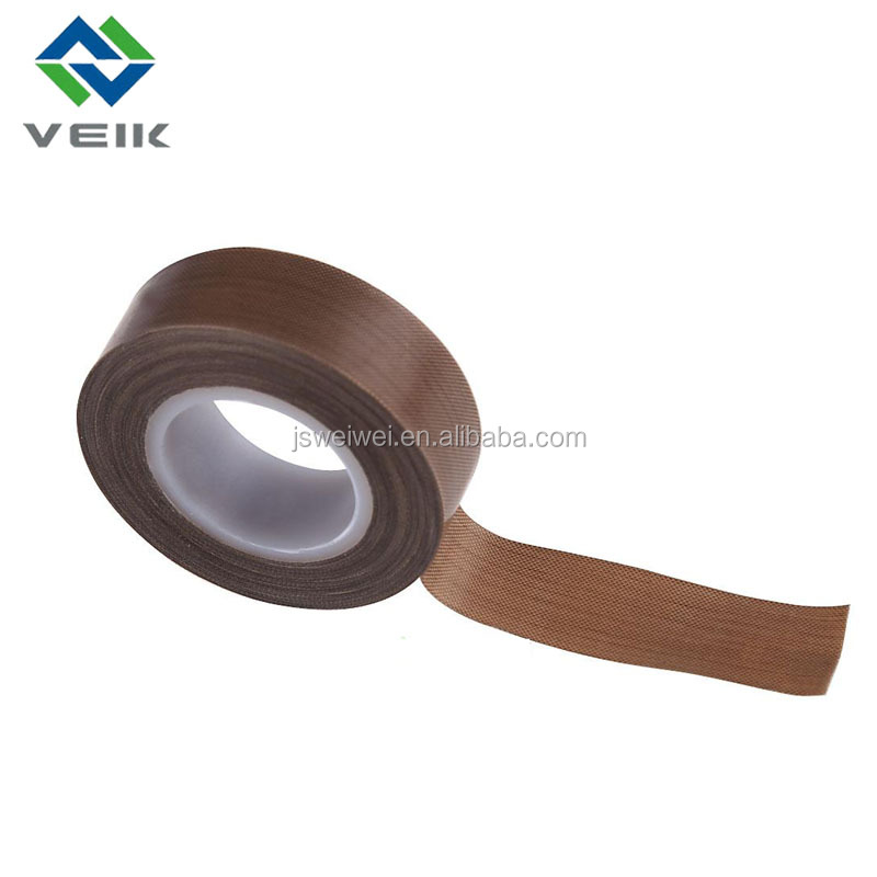 High temperature fiberglass adhesive teflon tape