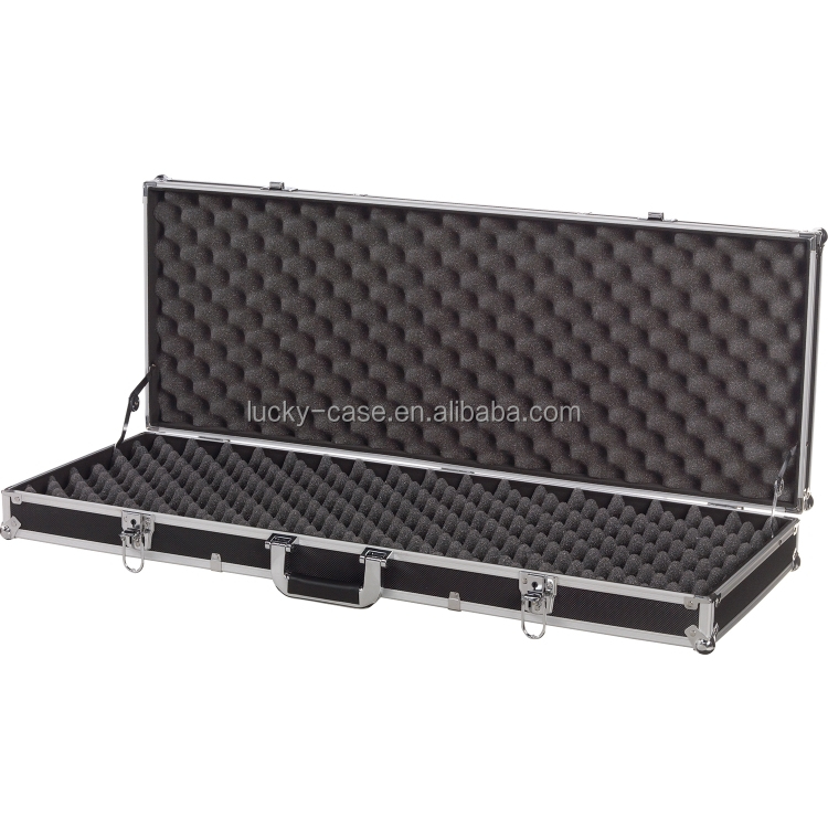 Durable Hard Aluminum Metal Gun Case Hard Case with Foam Gun Case For Sale