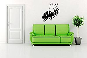 Wall Vinyl Sticker Decals Mural Room Design Pattern Bee Wasp Wings bo179