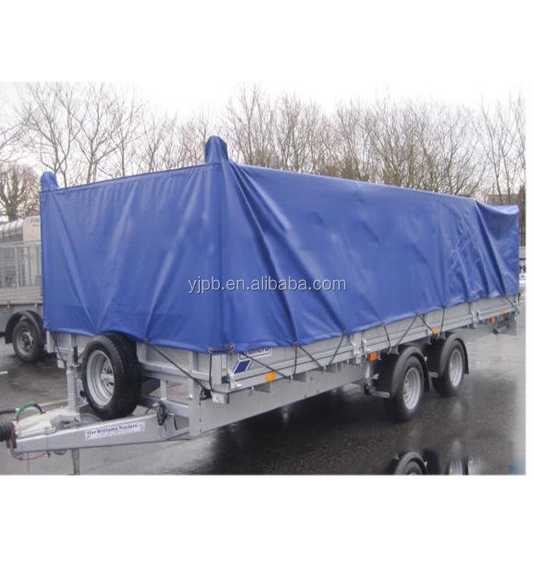 with logo trailer cover Gray 650g/m2 <strong>PVC</strong>