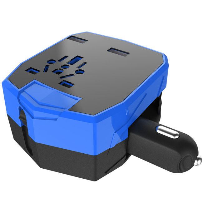 Creatway KCW Universal Travel charger with Car Charger, UK/ USA/ AUS/ EU Type Plus фото
