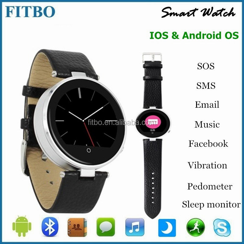 Slim MTK2502A Android & IOS worlds smallest watch phone for Google Nexus 4/5 Lumia 920 LG G2 G3 G4