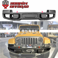 Factory Sale!! 07-17 Jeep Wrangler 10th anniversary front bumper rear bumper with Wrap Angle for Jeep Wrangler Jk full bar