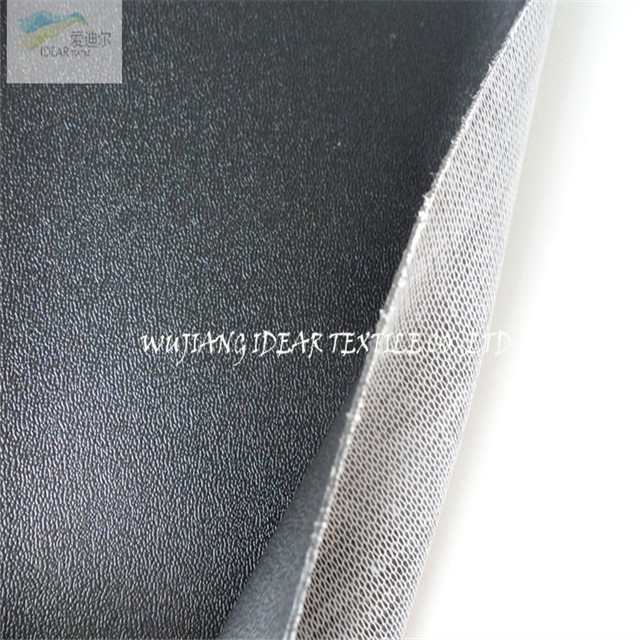 Black Embossed PVC Leather AS029 for car seat