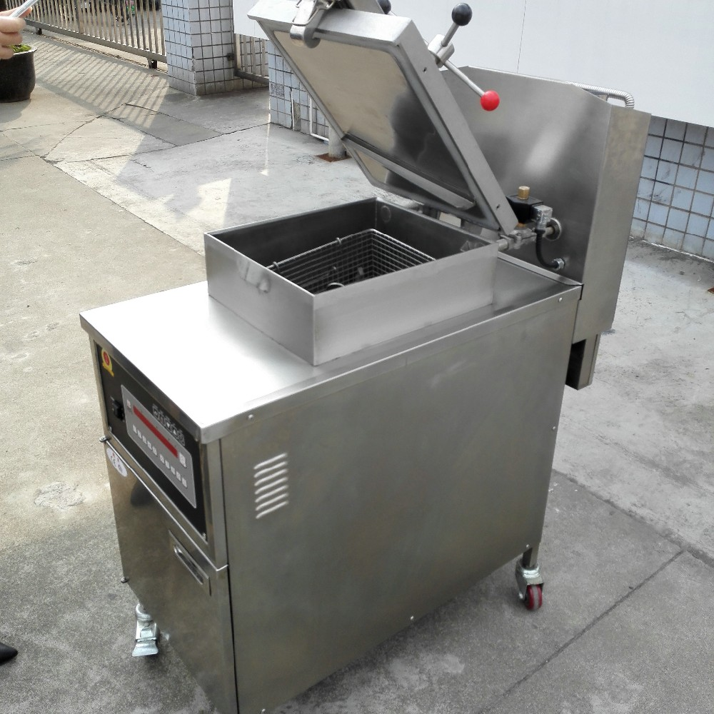 Industrial freidora de gas de presi n freidora de pollo for Freidora industrial