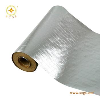 Flame retardant aluminum foil reinforced kraft paper for Fire resistant insulation material