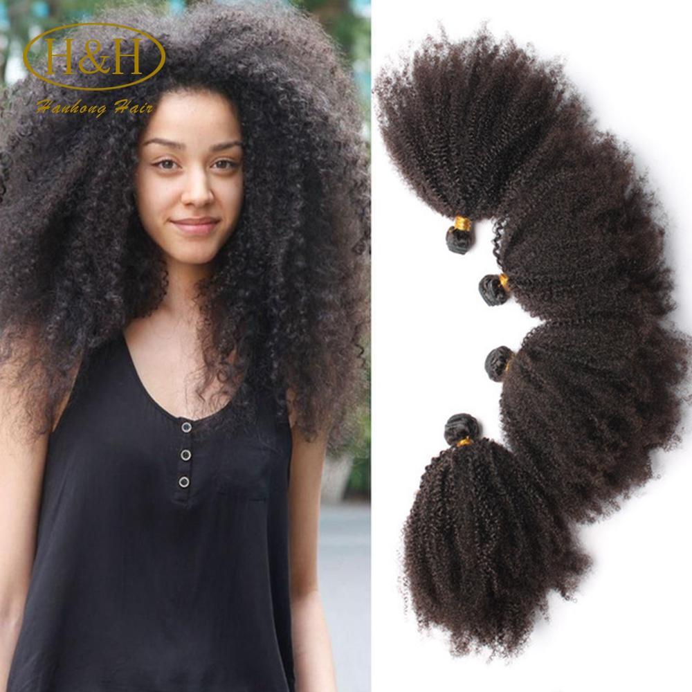 Grade 7a Mongolian Hair Afro Kinky Human Hair Mongolian Kinky Curly