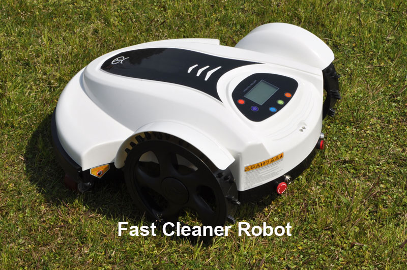 2014 Most Economical Electric Lawn Mower Robot With Schedule,Language And Subarea Setting